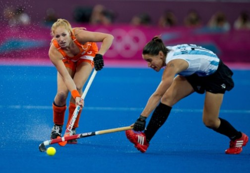 An Argentina Vs Netherlands final has become a regular feature in women's field hockey