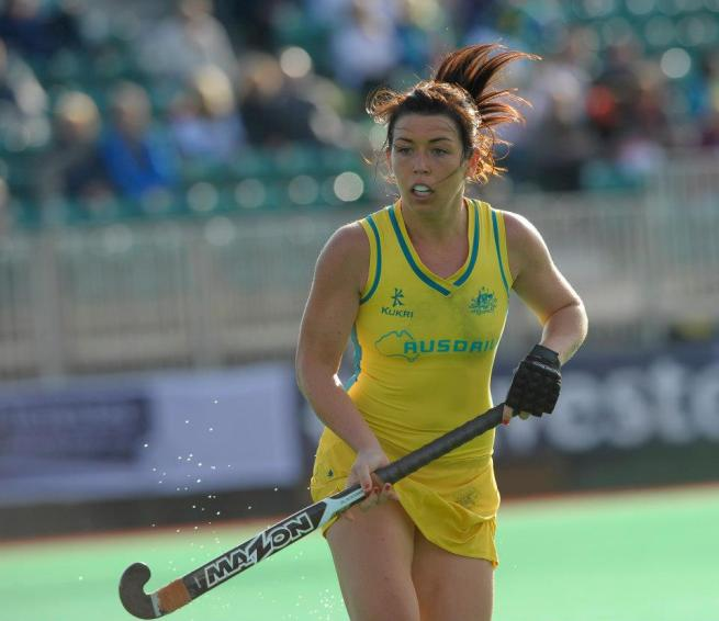 Jade Close of Australia.  The Hockeyroos have been very successful at the Olympics