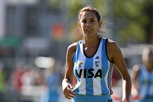 Luciana Aymar of Argentina, one of the best players of this generation