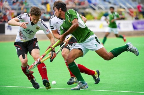 Waqas of Pakistan was the leading scorer of the tournament, and scored two goals today (currypost.com)