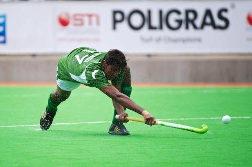Muhammed Ateeq of Pakistan scored the winning goal (currypost.com)