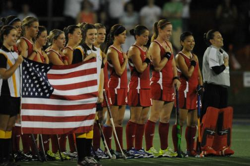 The US team has won a bronze medal at the Champions Trophy