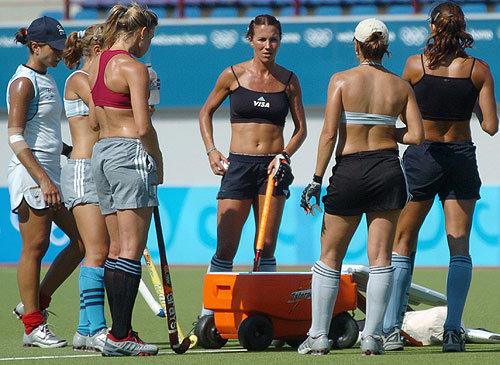 Argentina Win 2013 Womens South American Field Hockey -3184