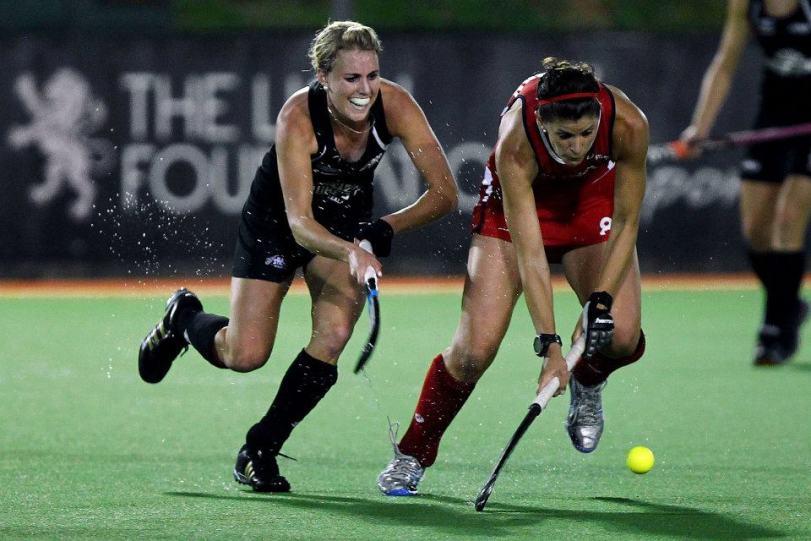 emily naylor of NZ v Rachel Dawson of the USA