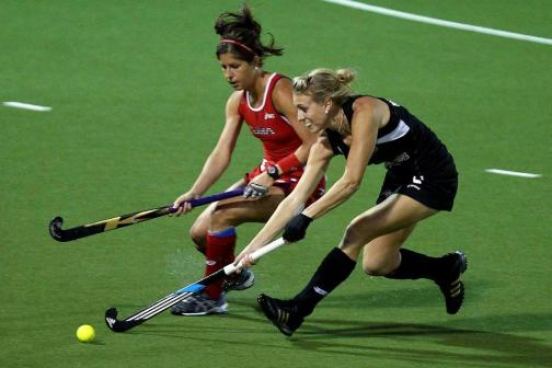 USA women's field hockey player katie reinprecht