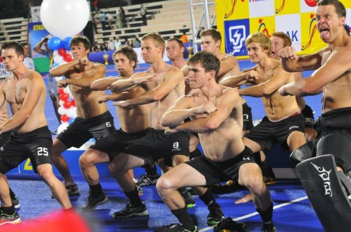 #9 - The Blacksticks doing the haka