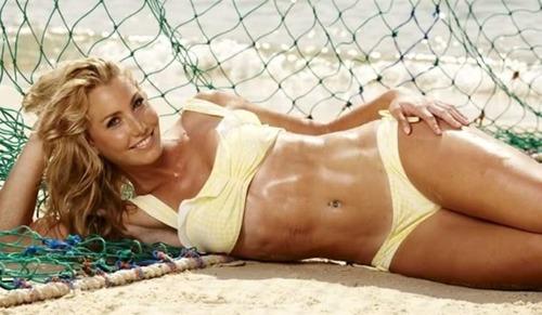 casey eastham in a bikini