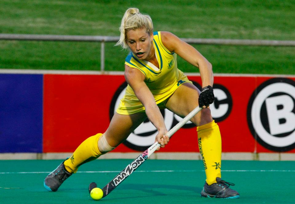 Casey Eastham of Australia: A key midfielder for the Hockeyroos ...