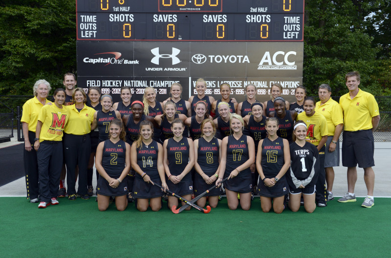 Maryland Girls Field Hockey Team NCAA